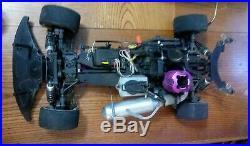 Remote Control Nitro Race Car With Futaba Controller