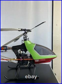 Remote Control RC Radio Control Hirobo Model Helicopter Futaba