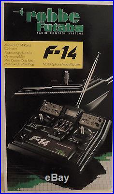 Robbe Futaba F-14 mit OVP