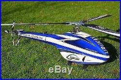 SAB GOBLIN URUKAY RC Helicopter RTF XNOVA Castle Creation 160A AXON Futaba T10J