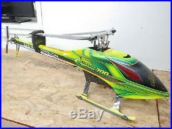 SAB Goblin 700 ARTR Brushless Electric RC Helicopter Castle ICE2 Futaba JR Servo