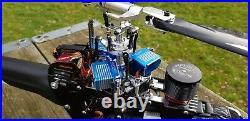 Sab Goblin 570 Drake RTF Kontronik, Futaba T12K Radio Controll, Autopilot Axon