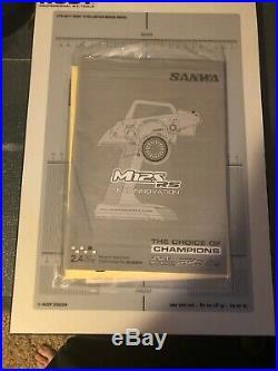 Sanwa/Airtronics M12S-RS FH4T Radio With LiFe Battery Futaba Spektrum