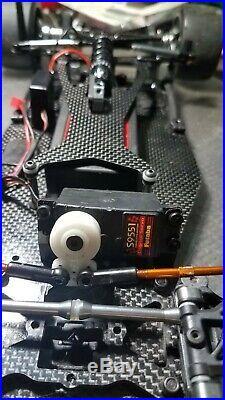 Serpent S100 Lt Motiv 7800mah Futaba s9551 Hobbywing dc booster
