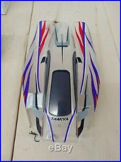 Shelf Queen Tamiya Rising Storm DF02 ARTR Ultra Nice 4WD Buggy withFutaba Radio