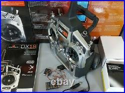 Spektrum DX18 Transmitter Gen 2 18 Channel 2.4GHz + AR9020 Receiver Great Condit