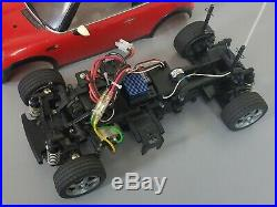 Tamiya 1/10 RC Mini Cooper M03L Chassis ESC Futaba Servo Transmitter Motor 58295