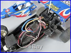 Tamiya 1/10 RC Rising Fighter 2WD + Futaba Transmitter + TEU101BK ESC + Servo