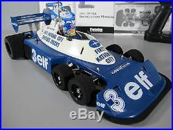 Tamiya 1/10 RC Tyrrell P34 F-1 Six Wheeler #49154 Futaba MC230CR ESC Battery