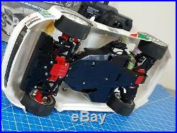 Tamiya 1/10 R/C Castrol Toyota TOM'S Supra GT TA02 Chassis Futaba Upgrade Motor