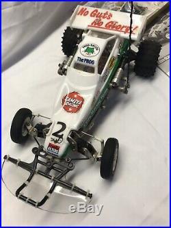 Tamiya 1/10 R/C FROG Off Road Racer Buggy 58354 2nd Gen Novak Trinity Futaba