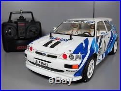 Tamiya 1/10 R/C Ford Escort RS Cosworth Novak ESC Futaba Transmitter 58112 TA01