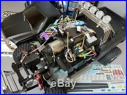 Tamiya 1/10 R/C Ford F350 High Lift + MFC-02 LED light & sound unit + FM Futaba