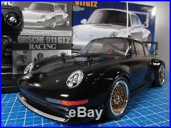 Tamiya 1/10 R/C Porsche 911 GT2 Racing TA02SW 4WD 84399 ESC Futaba Magnum