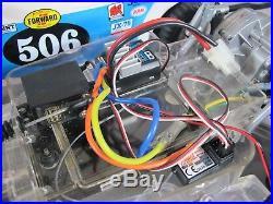 Tamiya 1/10 R/C Sand Scorcher Racing Buggy 2WD ESC Futaba Servo FlySky 2.4Ghz