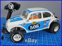 Tamiya 1/10 R/C Sand Scorcher Racing Buggy 2WD ESC Futaba Servo Tactic Radio