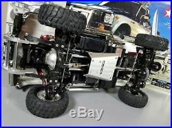 Tamiya 1/10 R/C Toyota Hilux High Lift Truck + Futaba+ESC+Upgrade Part & Bearing