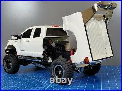 Tamiya 1/10 R/C Toyota Tundra High Lift Truck with 2.4GHz Tactic ESC Futaba Servo