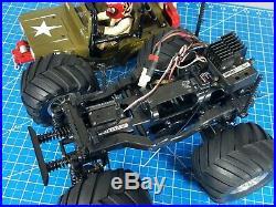 Tamiya 1/10 R/C Wild Willy 2 with Futaba Servo ESC Traxxas ESC 2.4GHz Remote RTR