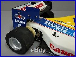 Tamiya 1/10 R/C Williams FW-16 Alaine Prost Sega F1 Race Car Rolling Chassis