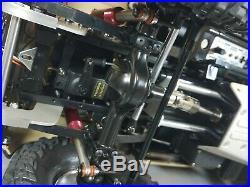Tamiya 1/10 Toyota Hilux High Lift Futaba 2.4GHz +MFC-02 light sound unit +Extra