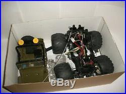 Tamiya 1/10 Wild Wily 2 RC Jeep + Futaba Radio boxed