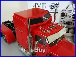 Tamiya 1/14 King Hauler with Custom Sleeper Cab + MFC-01 LED & Sound Unit +Futaba