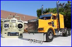Tamiya 1/14 RC King Hauler Semi Truck + MFC-01 Sound light unit Futaba 2.4GHz