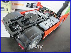 Tamiya 1/14 RC Mercedes Benz Actros 1851 Gigaspace + Futaba + MFC-03 LED & Sound
