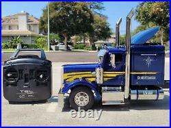 Tamiya 1/14 R/C Grand Hauler Semi Truck + MFC01 LED Light Sound+ Futaba 2.4GHz