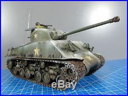Tamiya 1/16 M4 Sherman Tank 105mm Howitzer Full Option DMD T-05 Unit Futaba