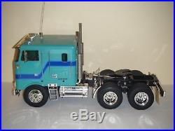 Tamiya 56304 1/14 GLOBE LINER Tractor Semi Truck & Futaba Attack-4 USED/AS-IS