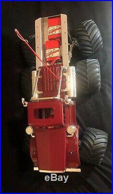 Tamiya Bullhead 6 x 6 Full Alum Chassis JPS Billet Trinity Novak Futaba with Radio