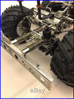 Tamiya Heavy Metal DUMP TRUCK (cva oil shocks, ball bearings, futaba servo)