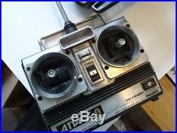 Tamiya Hotshot 2 With Orignal Beatties Bag Futaba Radio Un Tested Vintage Rc Car