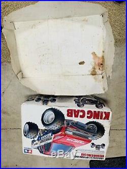 Tamiya Nissan King Cab Rare Futaba MC108 ESC Original Box 1/10 Original