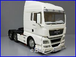 Tamiya RC 1/14 MAN TGX 26.540 6x4 XLX Truck 56325 + ESC + Futaba Servo +Aluminun