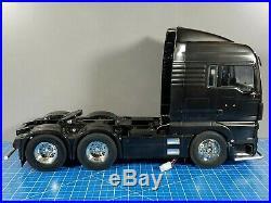 Tamiya RC 1/14 MAN TGX 26.540 6x4 XLX Truck 56325 + ESC + Futaba Servo + Parts