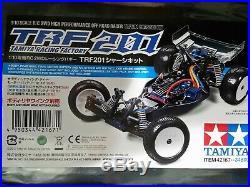 Tamiya RC TRF201 2wd Buggy 42167 New BUILT Bundle Brushless Savox Futaba Radio