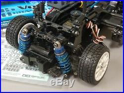 Tamiya R/C 1/10 M-05 Version 2 Pro Chassis #58593 Futaba Servo Black Tuned Motor