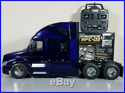 Tamiya R/C 1/14 Cascadia Freightliner Truck + MFC-03 LED Sound Unit +Futaba 4YWD