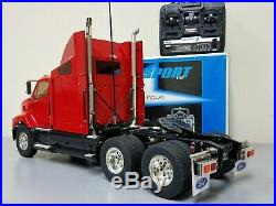 Tamiya R/C 1/14 Red Ford Aeromax Semi Truck with Futaba Transmitter +TBLE-02 ESC