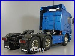 Tamiya R/C 1/14 Scania R620 Highline Semi Truck +Futaba +Servo +ESC +Battery