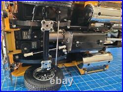 Tamiya R/C 1/14 Stretch Globeliner Semi + MFC-01 LED light & sound Unit +Futaba
