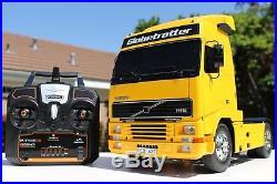Tamiya R/C 1/14 Volvo FH12 Globetrotter 420 Tractor Semi Truck ESC Futaba Kyosho
