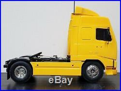 Tamiya R/C 1/14 Volvo FH12 Globetrotter 420 Tractor Semi Truck ESC Futaba Servo