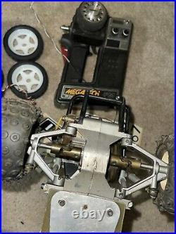 Tamiya Sand Scorcher Used Futaba Novak Vintage Rc Remote Kyosho Proline