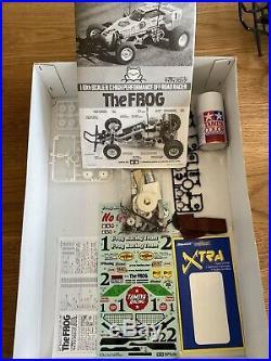 Tamiya The Frog Revised & Improved Model + Futaba R/C System 2 Batt & Charger