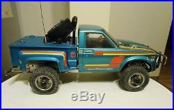 Tamiya Toyota Hilux Step Side Bruiser Mountaineer RC Pick Up Truck Blazer Futaba