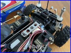 Tamiya porsche 959 Rothmans New Build Futaba Spares Or Repair